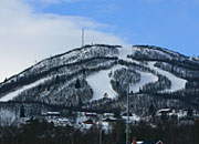 view of Slaatta skisenter
