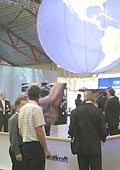 the Statkraft stand at ONS 2006