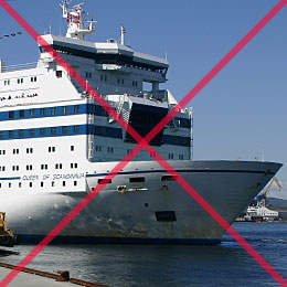There is now no ferry service between Norway and England