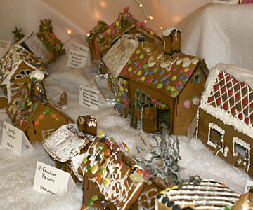 ginger bread town in stavanger pepperkakebyen