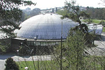 Stavanger concert hall in Bjergsted park