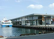 the new ferry and fastboat terminal in Stavanger