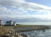 lighthouse and Jaeren skies