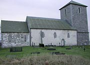 St Olavs church Avandsnes, one of the venues