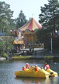 paddle boats to borrow