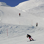 part of over 15 km of slopes