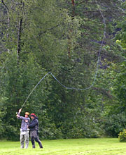 learning fly fishing